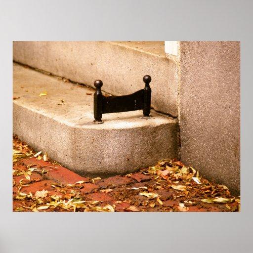 Beacon Hill Boot Scraper Posters