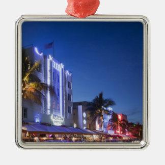 Beacon Hotel, Ocean Drive, South Miami Beach, Flor Christmas Ornament