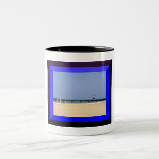 Beacon Light of Lake Michigan Shores Coffee Mug