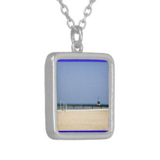 Beacon Light of Lake Michigan Shores Necklaces
