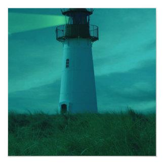 """Beacon of Light Invitations 5.25"""" Square Invitation Card"""
