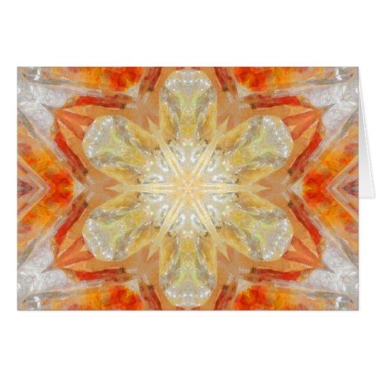 Beacon of Light Mandala Card