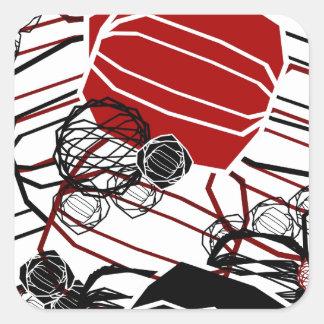 Beacon Square Sticker