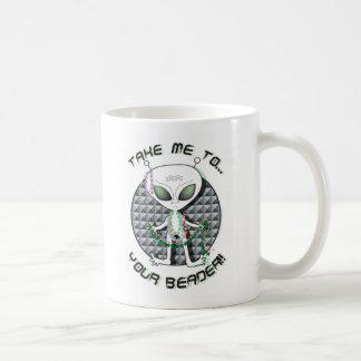 Bead Alien Basic White Mug