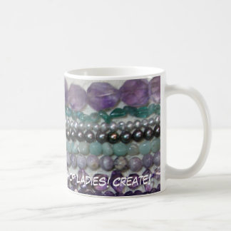 Bead Daily!  The Rock Shop Ladies! Cr... Basic White Mug
