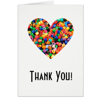 Bead Lover Thank You Card