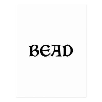 Bead Postcard