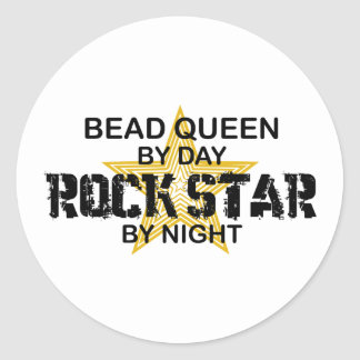 Bead Queen Rock Star by Night Stickers
