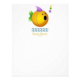 Bead Shark - Gold Custom Flyer