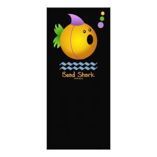 Bead Shark - Gold Rack Card Design