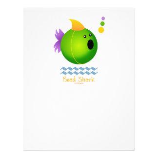 Bead Shark - Green 21.5 Cm X 28 Cm Flyer