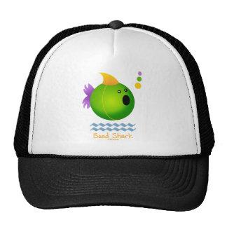 Bead Shark - Green Trucker Hats