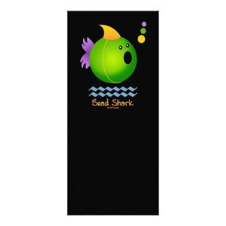Bead Shark - Green Rack Card Template