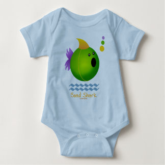 Bead Shark - Green T-shirts