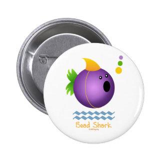 Bead Shark - Purple Pin