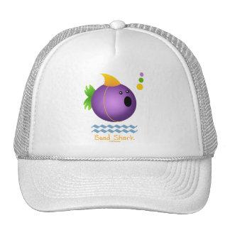 Bead Shark - Purple Hat