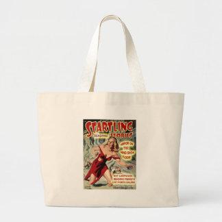 Bead Show Terror! Large Tote Bag