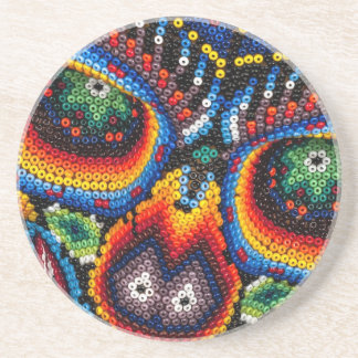 Bead Skull Eyes Coaster