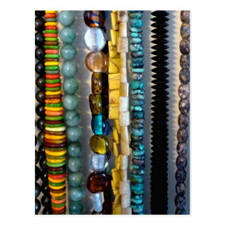 Bead Strings 2 Postcard