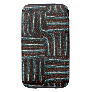 Bead weave print phone case