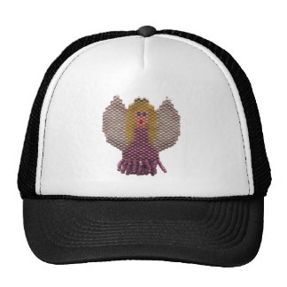 Beaded Angel Motif Hats