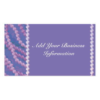 Beaded Elegance Pack Of Standard Business Cards