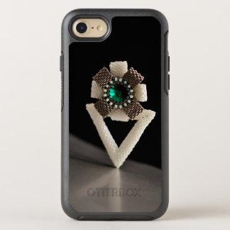 Beaded flower OtterBox symmetry iPhone 8/7 case