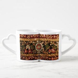 Beaded Indian Saree Photo Lovers Mug