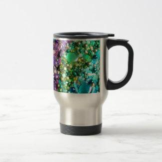 Beaded Rainbow Stainless Steel Travel Mug