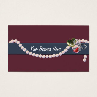 Beaded Savvy Business Card