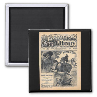 Beadles Half Dime Library Vol XXII No 560 1888 Square Magnet