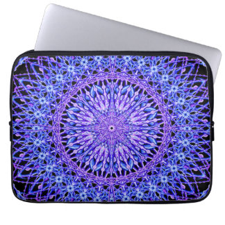Beads of Light Mandala Laptop Sleeve