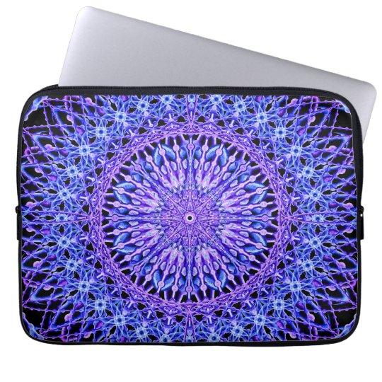 Beads of Light Mandala Laptop Sleeve