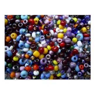 Beads Postcard