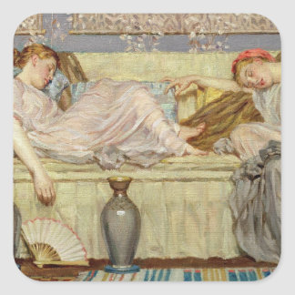 Beads (study), c.1875 (oil on canvas) square sticker