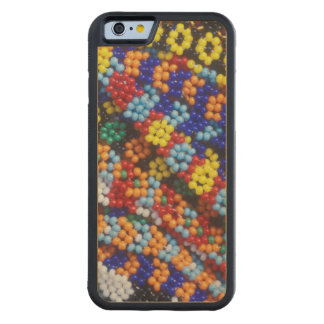 Beadwork, Melmoth, Kwazulu-Natal, South Africa Carved Maple iPhone 6 Bumper Case