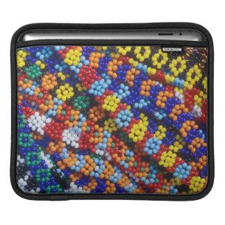 Beadwork, Melmoth, Kwazulu-Natal, South Africa iPad Sleeve