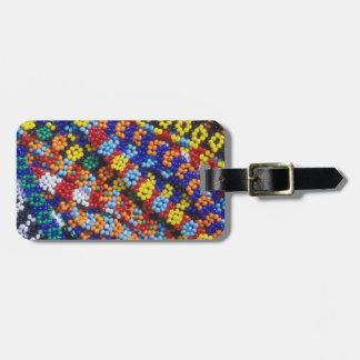 Beadwork, Melmoth, Kwazulu-Natal, South Africa Luggage Tag