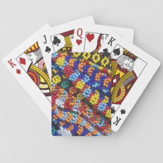 Beadwork, Melmoth, Kwazulu-Natal, South Africa Poker Deck