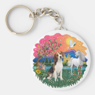 Beagle 1 key ring