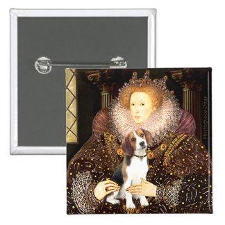 Beagle 1 - Queen Elizabeth I 15 Cm Square Badge