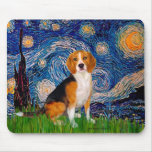 Beagle 7 - Starry Night Mouse Pads
