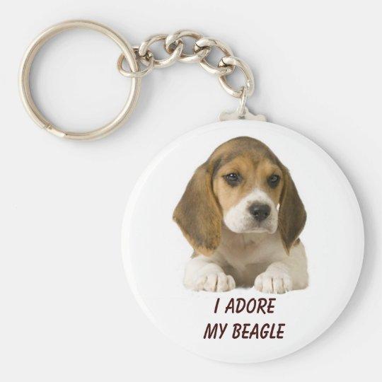 Beagle Adore Keychain