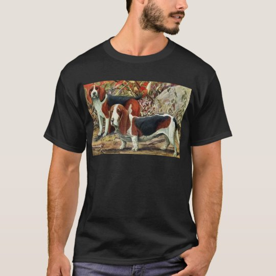 Beagle and Basset Hound T-Shirt
