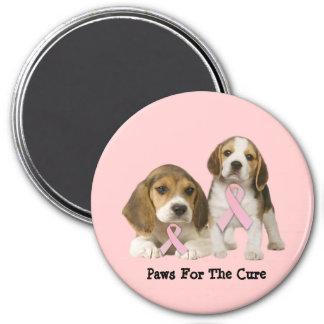 Beagle Breast Cancer Magnet
