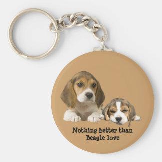 Beagle Buddies Keychain