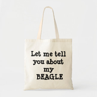 BEAGLE BUDGET TOTE BAG