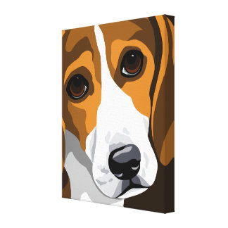 Beagle Canvas Art Prints Gallery Wrapped Canvas