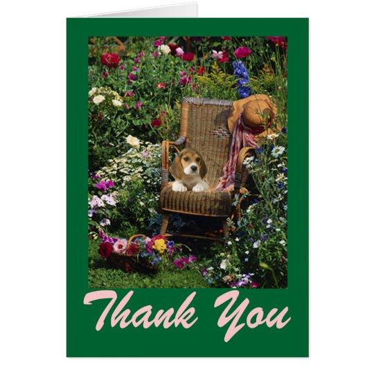 Beagle Card Thank You