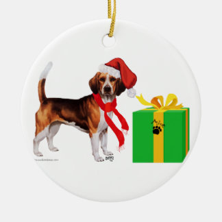 Beagle Christmas Christmas Ornament
